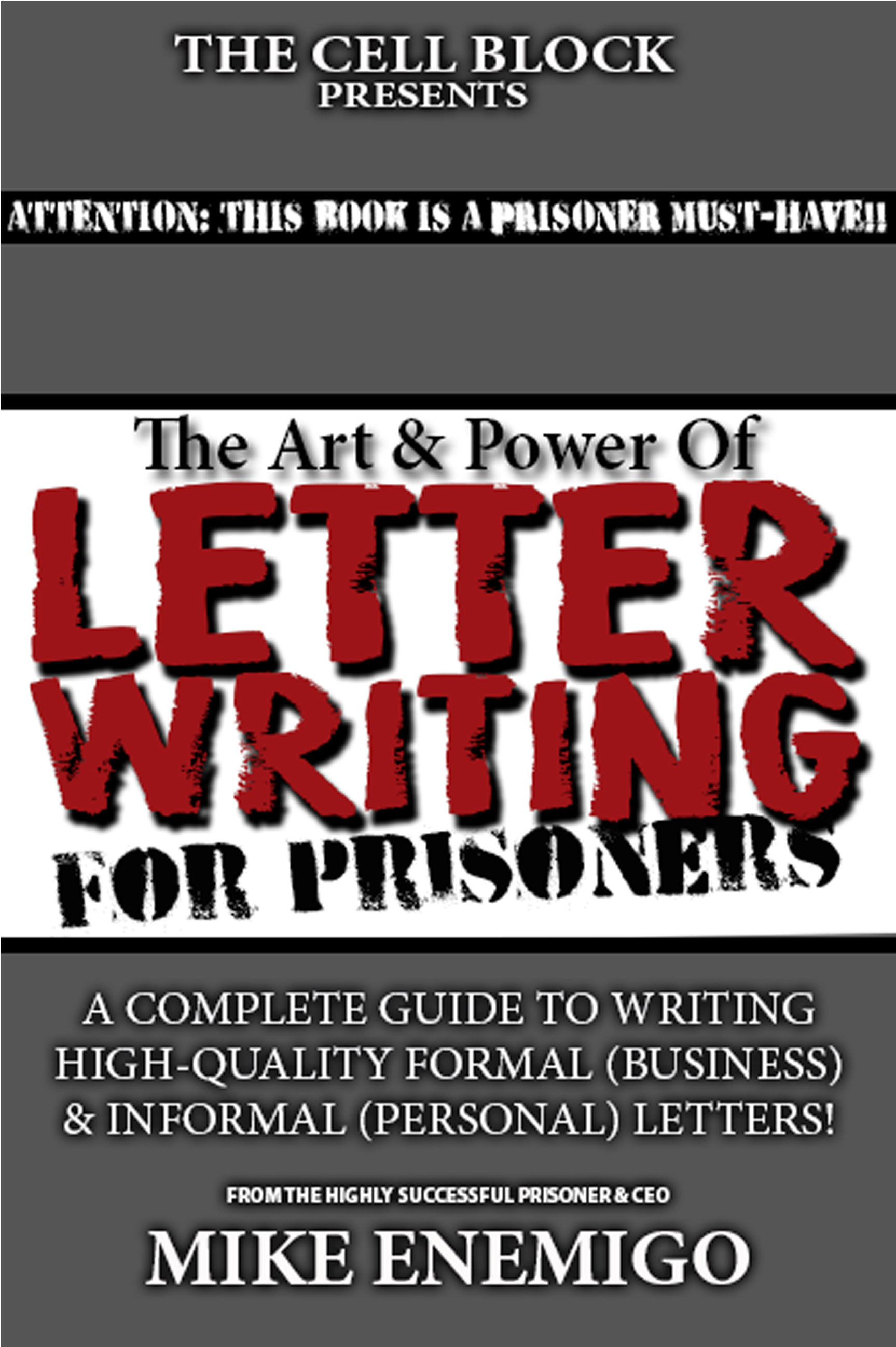 the art power of letter writing for prisoners